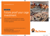 Future proof your cage investment.